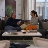 Bertín Osborne y Samantha Vallejo-Nágera en 'En la tuya o en la mía'