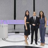 Esther Vaquero, Vincente Vallés y Ana Pastor en '7d: el debate decisivo'