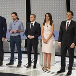 Los protagonistas se reúnen por primera vez en '7d: el debate decisivo'