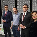 Los representantes de los partidos políticos en '7d: el debate decisivo'
