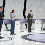 Los representantes políticos debatiendo en '7d: el debate decisivo'