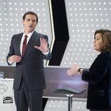 Albert Rivera y Soraya Sáenz de Santamaría en '7d: el debate decisivo'