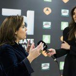Soraya Sáenz de Santamaría comentando sus impresiones tras '7d: el debate decisivo'