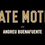 Logotipo de 'Late Motiv', en fondo negro