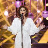Vicky Larraz es Paloma San Basilio en 'Tu cara me suena'