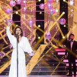 Vicky Larraz en la décimo tercera gala de 'Tu cara me suena'