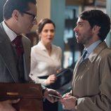 Raúl de la Riva en la tercera temporada de 'Velvet'