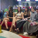 Carlos, Sofía, Niedziela, Marta, Han y Aritz en 'Gran Hermano 16'