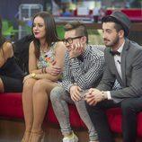 Los concursantes se despiden de su compañera Marta en 'Gran Hermano 16'