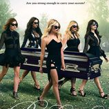 Cartel promocional de la temporada 6B de 'Pretty Little Liars'