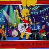Maggie dentro de 30 años en 'Los Simpson'