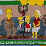 La familia de Bart dentro de 30 años en 'Los Simpson'