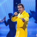Adrián Rodríguez en la décimo cuarta gala de 'Tu cara me suena'