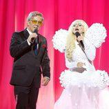 Silvia Abril es Lady Gaga en 'Tu cara me suena'