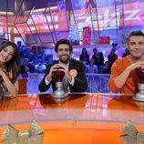Equipo Naranja de 'Pasapalabra' en el especial de Nochebuena