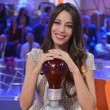 Almudena Cid en el especial de Nochebuena de 'Pasapalabra'