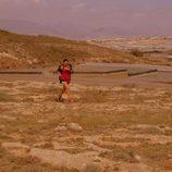Lola practica running en 'Mar de plástico'