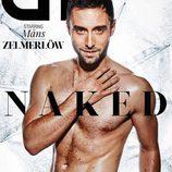 Mäns Zelmerlöw, desnudo protagonista de la portada de GT