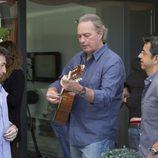 Bertín Osborne junto a Pablo Motos y Pablo Carrasco