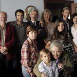 La familia Alcántara reunida en la 17ª temporada de 'Cuéntame cómo pasó'