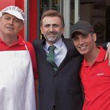 Pablo Carbonell, José Mota y Pitingo en 'El resplandor. Especial Mota'