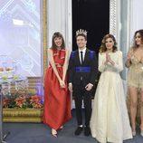 Los estilistas de 'Cámbiame' y la presentadora Marta Torné dieron las Campanadas del 2015
