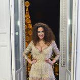 Cristina Rodríguez posando en las Campanadas de 'Cámbiame de año'