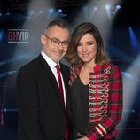 Jordi González y Sandra Barneda en 'Gran Hermano VIP 4'