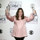 Melissa McCarthy en la alfombra de los People Choice Awards 2016