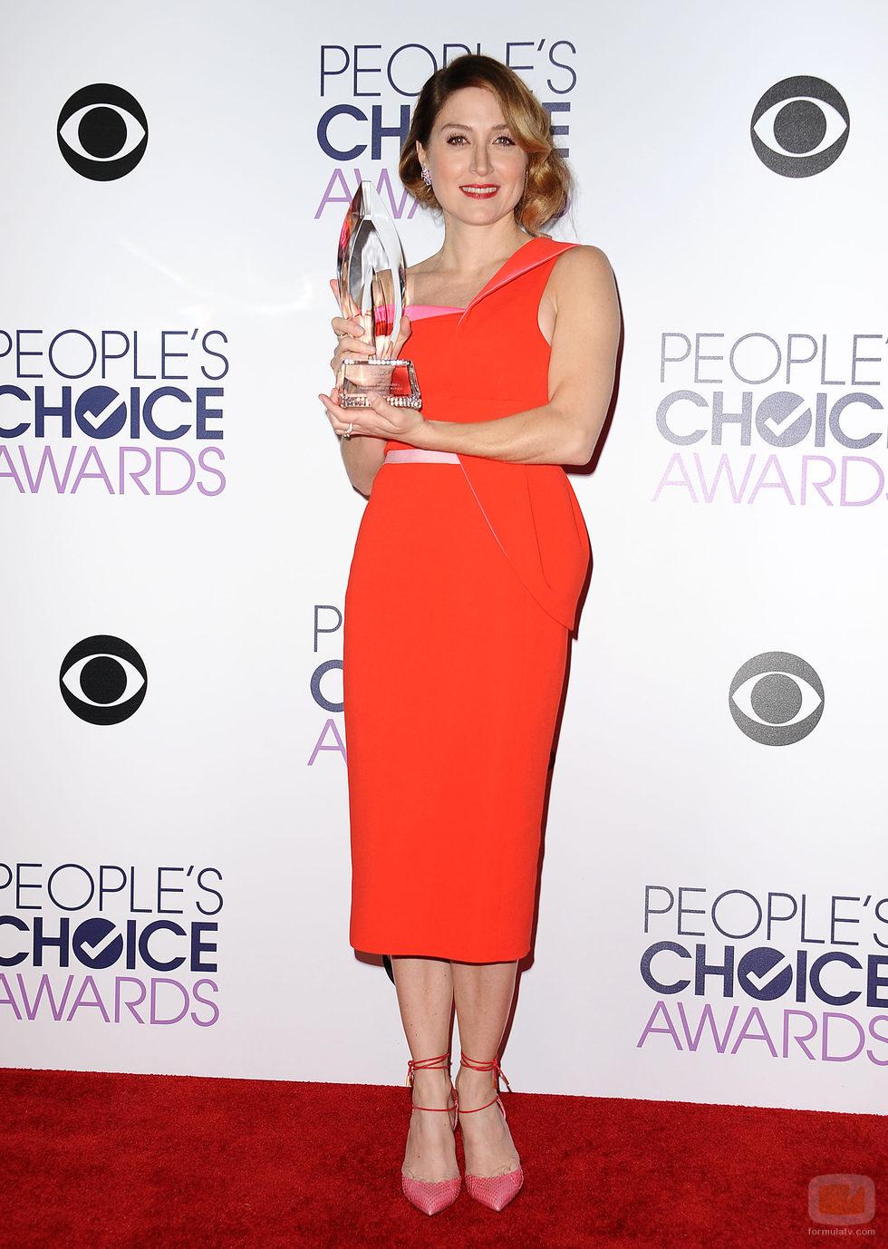 Sasha Alexander, ganadora en los People Choice Awards 2016