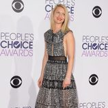 Claire Danes en la alfombra roja de los People Choice Awards 2016