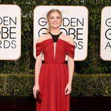 Natalie Dormer en la alfombra roja de los Globos de Oro 2016