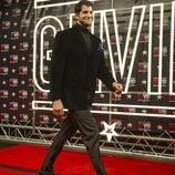 Julián Contreras, llegando al photocall, durante la primera gala de 'GH VIP 4'