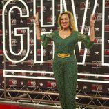 Rosa Benito posa en el photocall de 'GH VIP 4' durante la primera gala