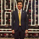 Francisco Nicolás posa en el photocall durante la primera gala de 'GH VIP 4'