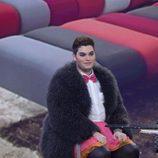 Sema, en plató, durante la primera gala de 'GH VIP 4'