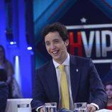 Francisco Nicolás, en plató, durante la primera gala de 'GH VIP 4'