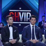 Adrián Soler y Diego Matamoros durante la primera gala de 'GH VIP 4'