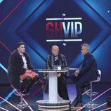 Jordi González entrevista a Sema y Rappel en la primera gala de 'GH VIP 4'