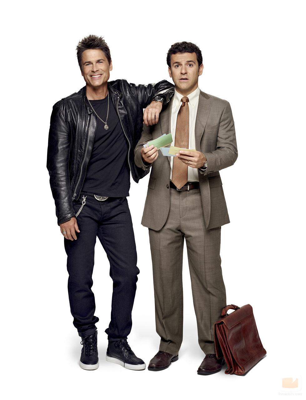 Dean y Stewart en 'Grinder'