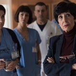 Adela y parte del equipo observan la situación del Montalbán en 'Bajo sospecha'