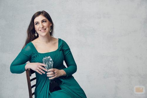 Mayim Bialik, ganadora en los Critics' Choice Awards