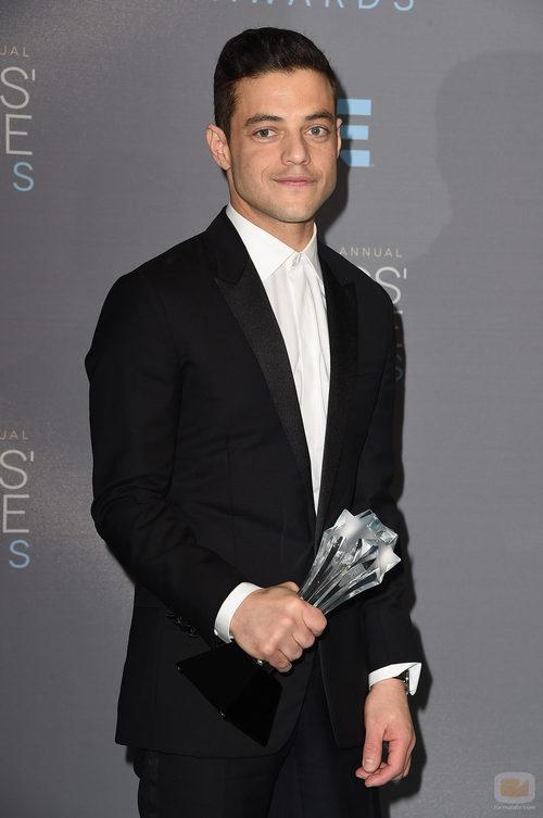 Rami Malek, ganador en los Critics' Choice Awards