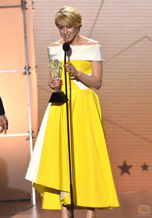Carrie Coon, ganadora en los Critics' Choice Awards
