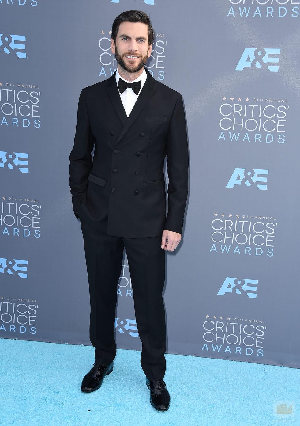 Wes Bentley en la alfombra de los Critics' Choice Awards