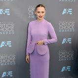 Laura Haddock en la alfombra de los Critics' Choice Awards
