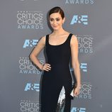 Emmy Rossum en la alfombra de los Critics' Choice Awards