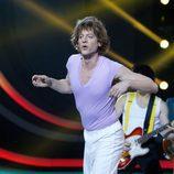 Edu Soto es Mick Jagger en la decimoquinta gala de 'Tu cara me suena'