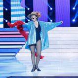 Silvia Abril es Concha Velasco en la decimoquinta gala de 'Tu cara me suena'