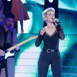 Vicky Larraz es Roxette en la decimoquinta gala de 'Tu cara me suena'